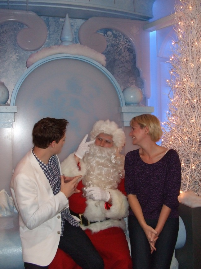 Of course, I loved the Signing Santa.  This is important because Santas are hard to lipread!