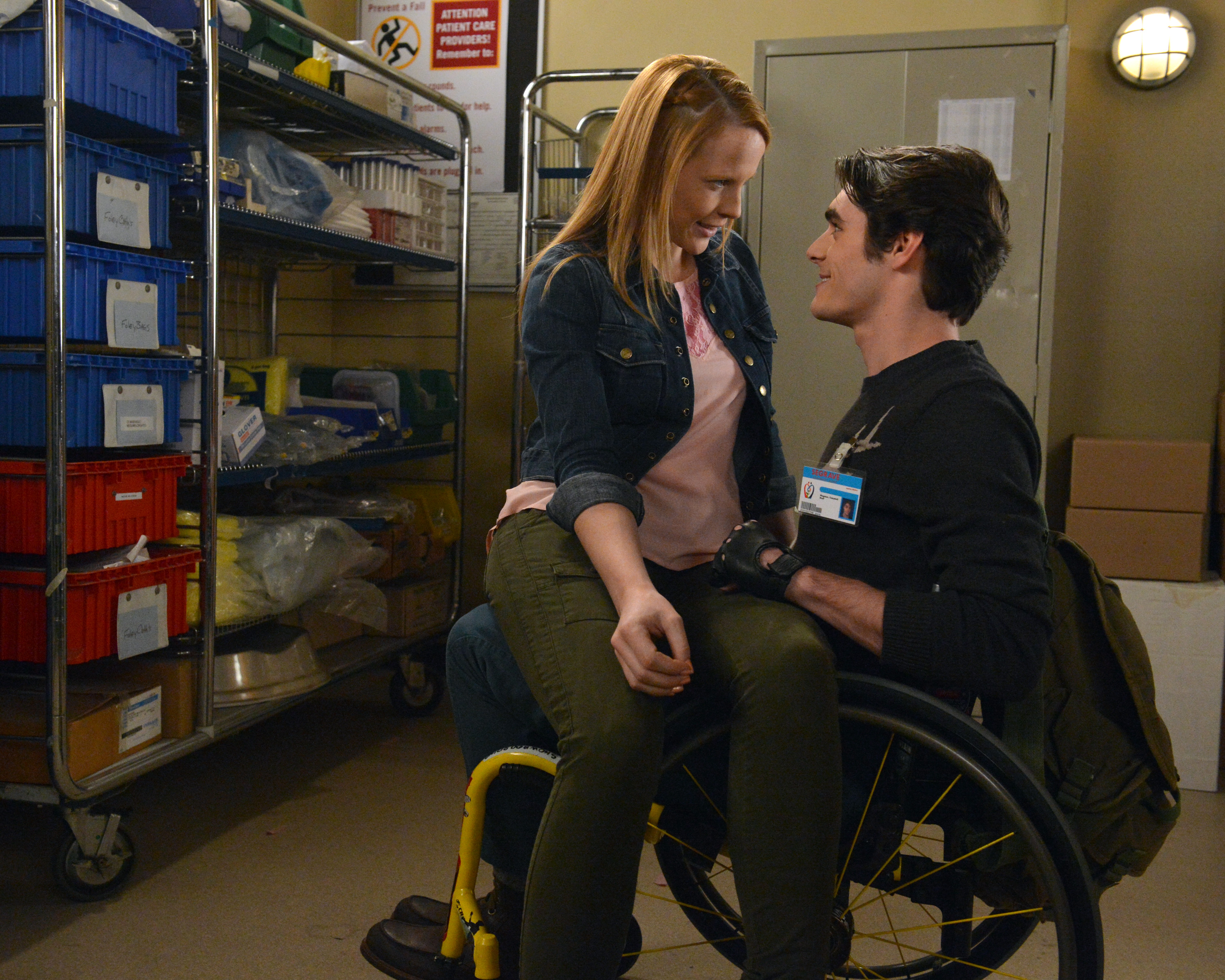 RJ Mitte and Vanessa Marano advocate for the disability ...