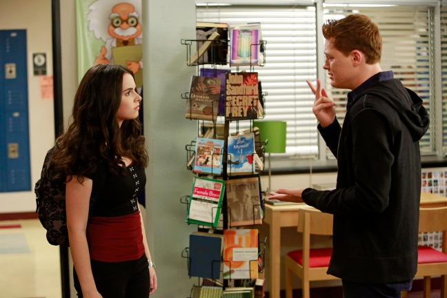 "SWITCHED AT BIRTH - ""Love Among the Ruins"" - Bay struggles with her feelings about Emmett and Tank while Daphne risks her safety to protect Regina in the summer premiere of ""Switched at Birth,"" airing Monday, June 16 at 8:00PM ET/PT on ABC Family. (ABC FAMILY/Ron Tom) © (ABC FAMILY/Ron Tom) VANESSA MARANO, SEAN BERDY"