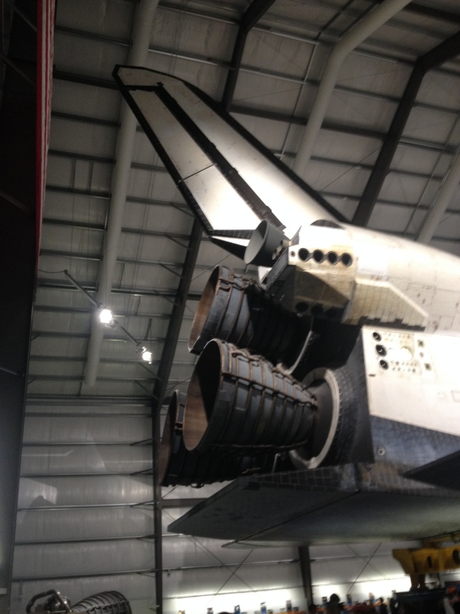 Pictured is the back of the Endeavor.  Credit: Megan Clancy