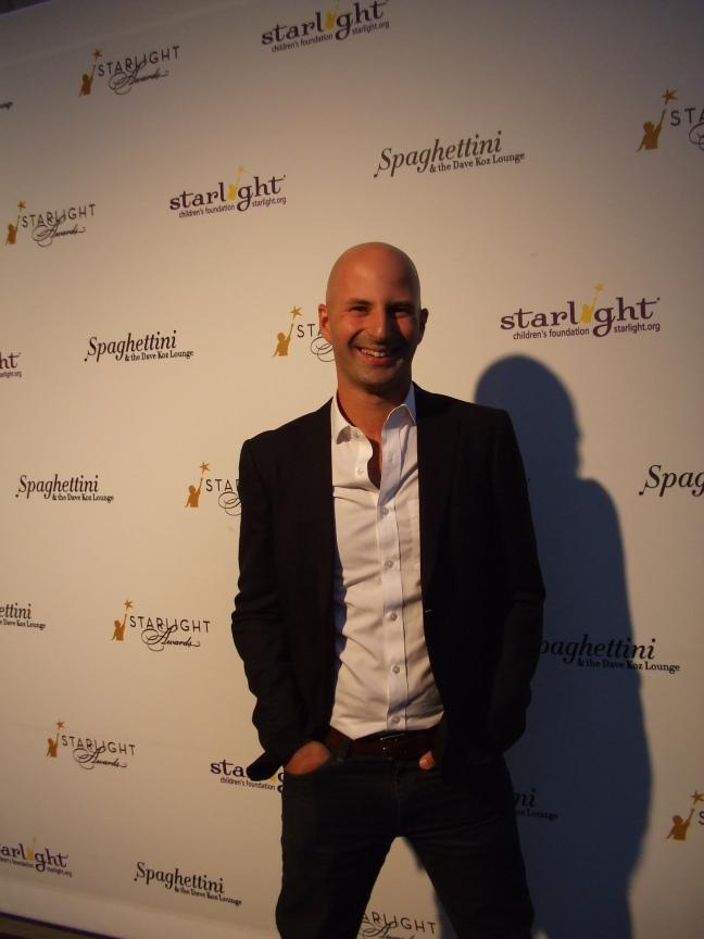 Ido Leffler at Starlight Awards, Los Angeles.  Photo by Megan Clancy