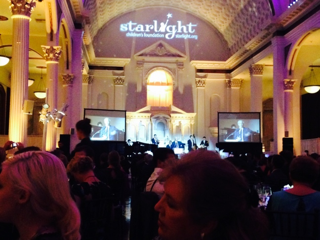General view of interior at Starlight Awards at Vibiana in Los Angeles on Oct. 23, 2014.  Photo by Tess Luthman.