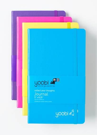 Yoobi books.  Photo courtesy of Yoobi.com.
